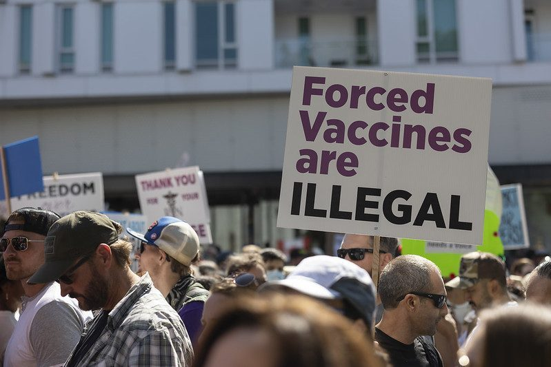 Another protest set for VGH as vaccine cards take effect