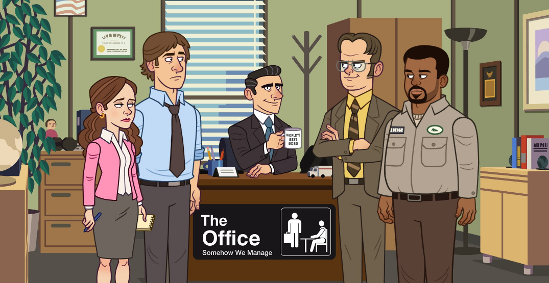 Mobile game based on The Office will let you be the world's best boss