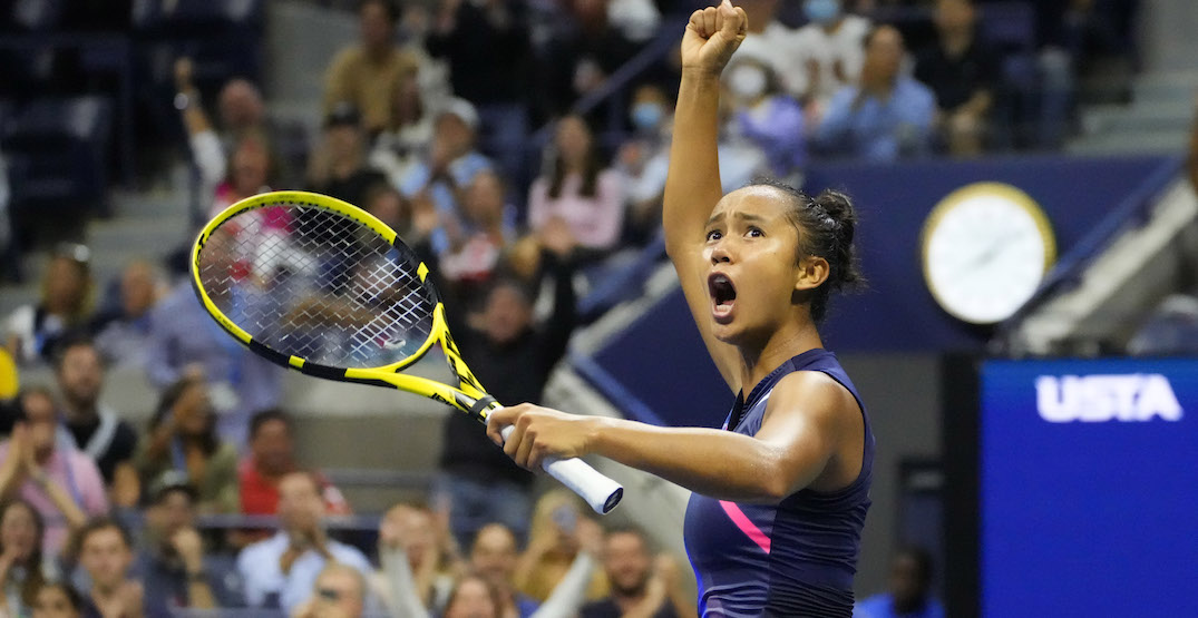 Leylah Fernandez heading to US Open final after another huge upset