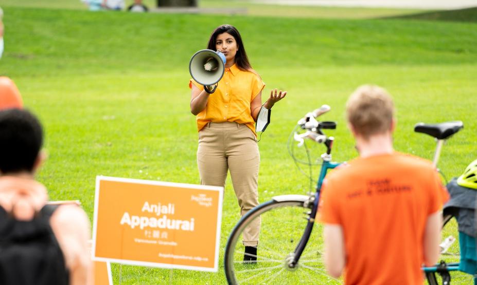 Expert says Liberals are losing progressive votes in bid for Vancouver Granville