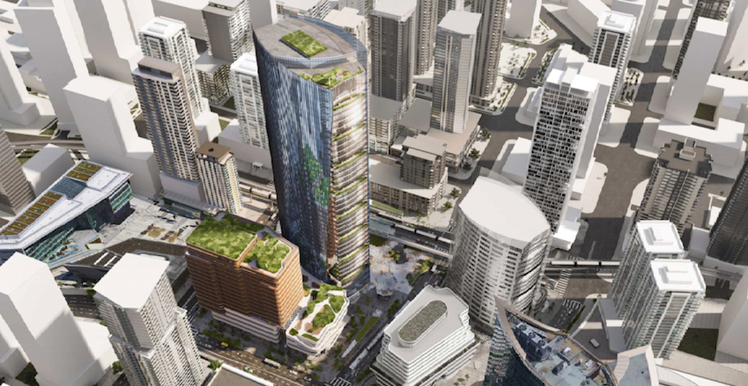 City of Surrey proposing to build Metro Vancouver's tallest office tower (RENDERINGS)