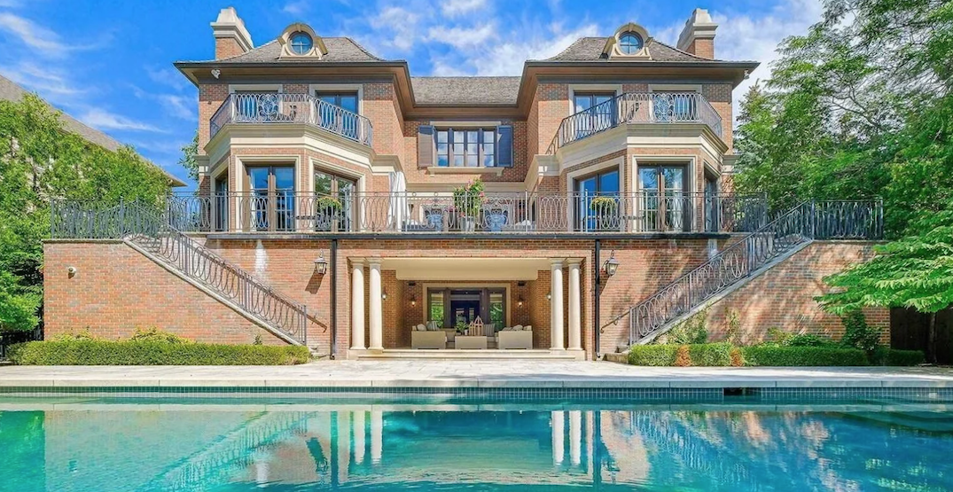 This $10.7 million Toronto home looks like a Bel-Air mansion (PHOTOS)