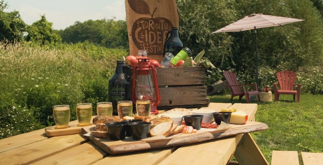 You can go on a curated road trip to an Ontario cidery this month
