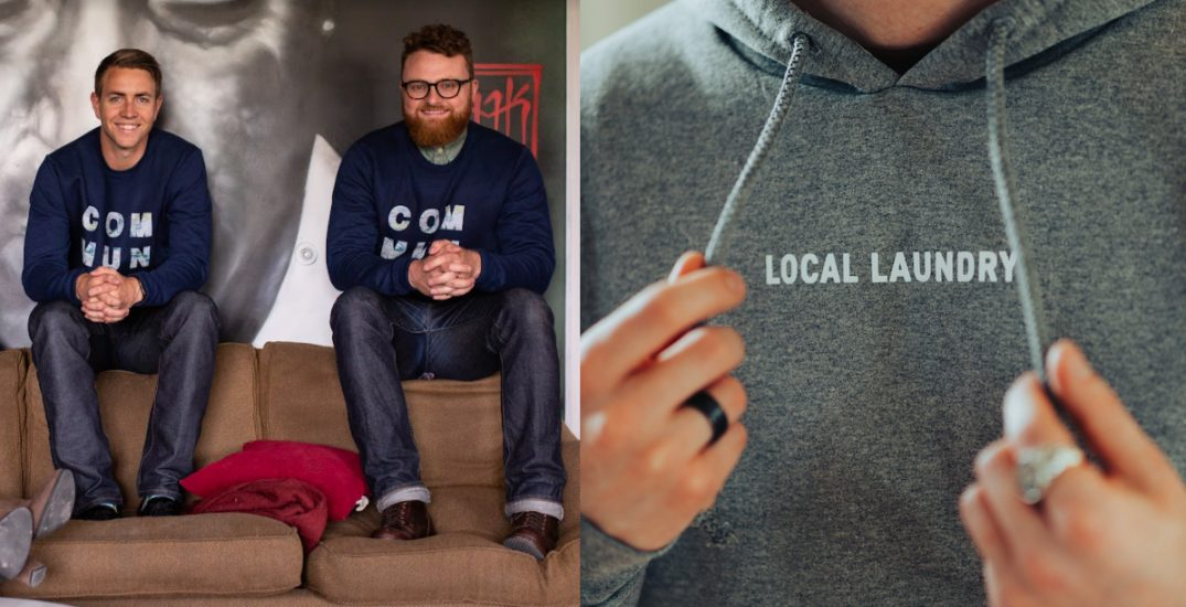 Local Laundry: This Calgary-based clothing company is selling apparel for social good