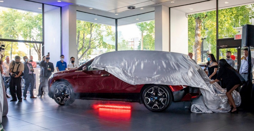 Vancouver could be hotspot for newly unveiled electric BMWs (PHOTOS)