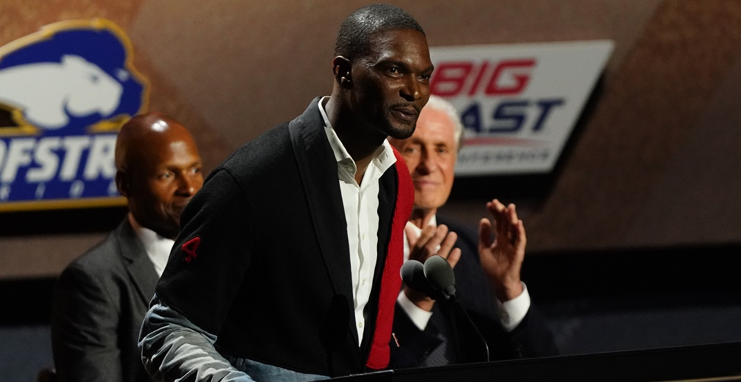 Raptors offer congratulations to Chris Bosh for Hall of Fame induction (VIDEO)