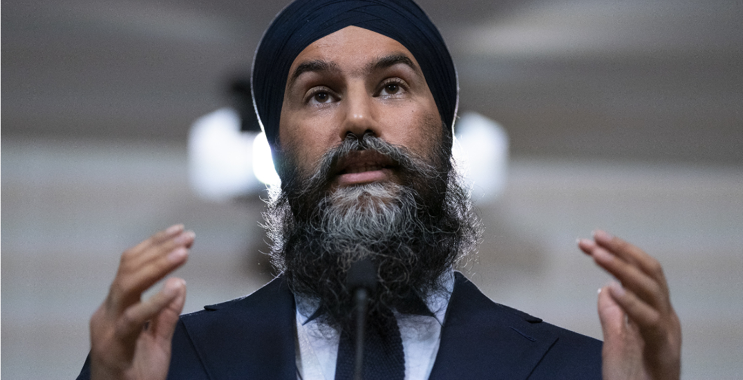 Jagmeet Singh promises to crack down on corporate loopholes, tax cheats