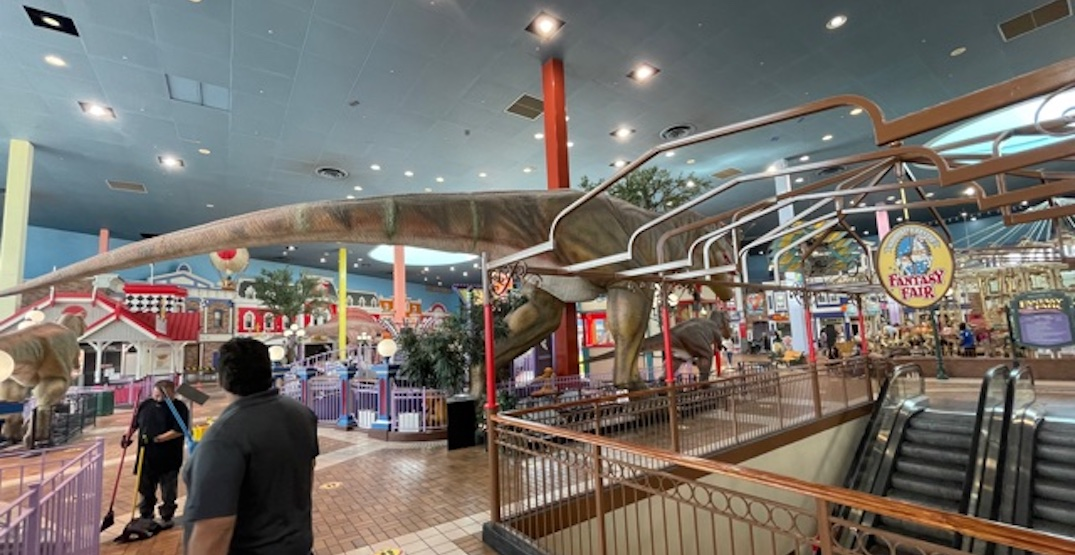 Woodbine Mall's 60,000 sq ft indoor amusement park is up for sale