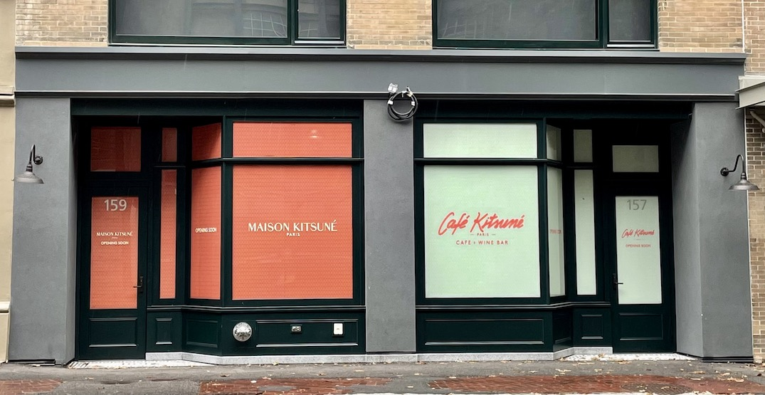 Maison Kitsuné to open first Canadian store and cafe in Vancouver (PHOTOS)