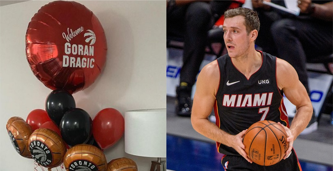 Goran Dragic appears ready to play for the Raptors after all