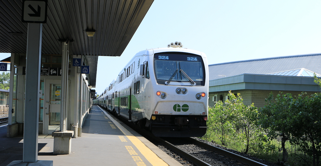 You can take the GO Train from Toronto to London starting next month
