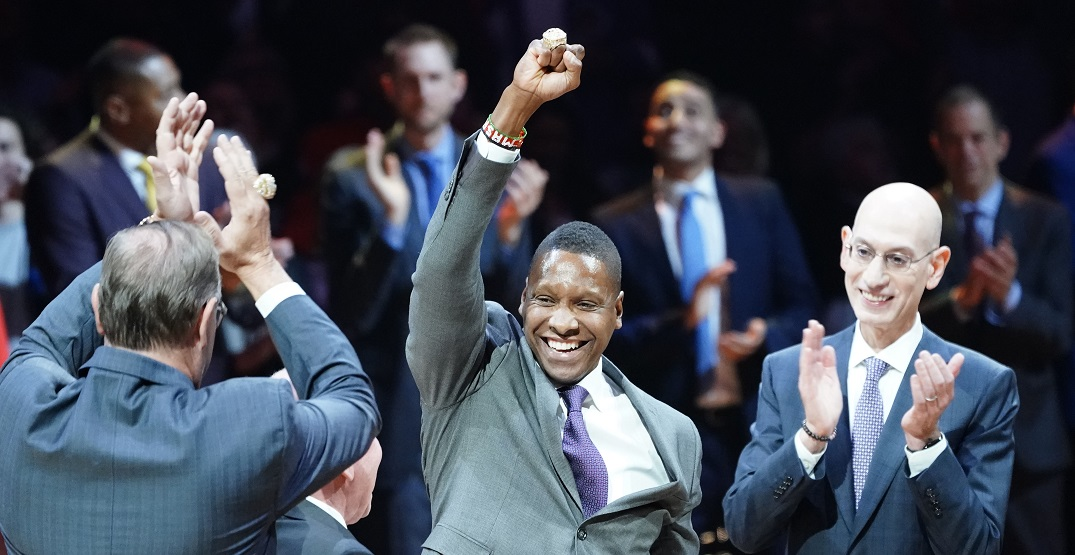 Raptors' Masai Ujiri is helping to build 100 basketball courts in Africa