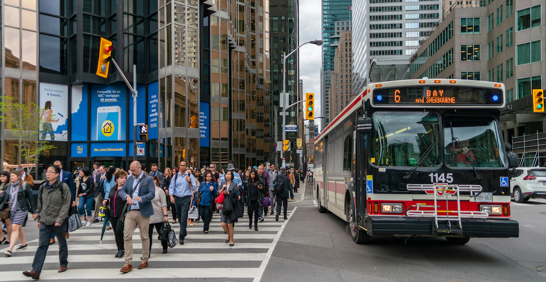 Toronto ranks 18th out of major North American cities returning to office
