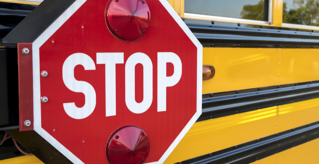 BC elementary schools were in lockdown after anti-vaccination protesters got inside