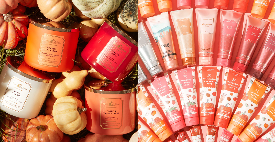The Canadian Bath & Body Works website is officially here