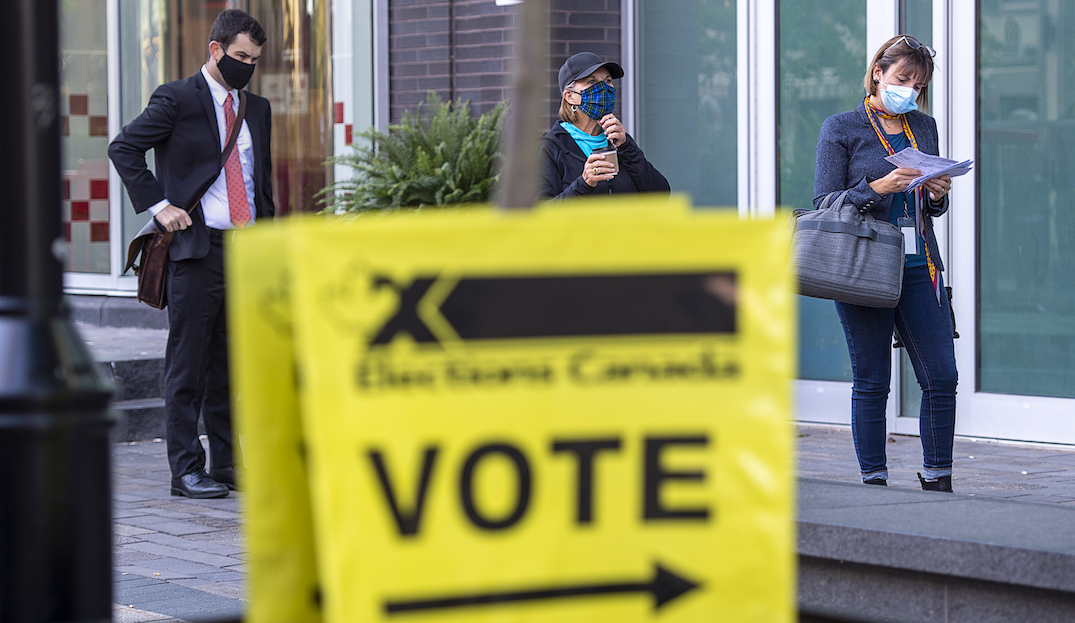 Elections Canada reports disruptions at some polling stations as Canadians vote