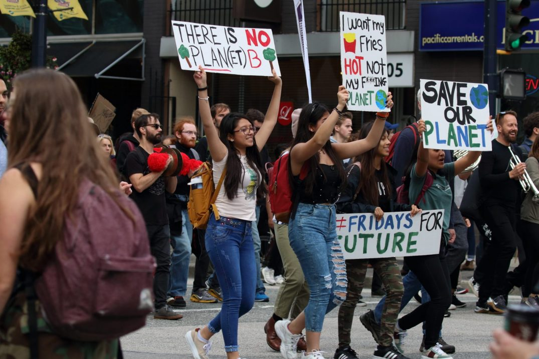 Metro Vancouver youth will strike for climate action this Friday downtown