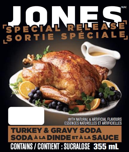 Turkey & Gravy Soda