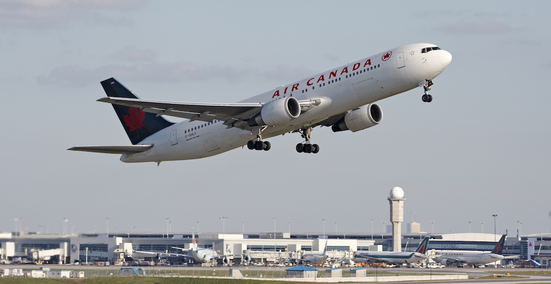 Air Canada's new check-in and baggage drop-off times are now in effect at Pearson Airport