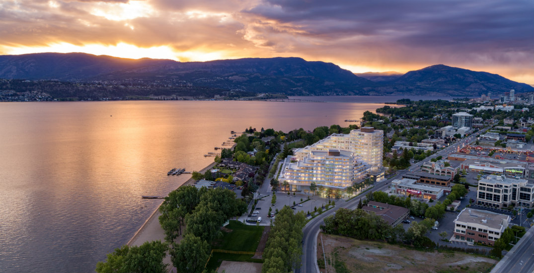 Breathtaking beachside residences from low $500Ks to launch in the Okanagan (PHOTOS)