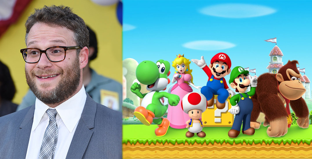 Canadian actor Seth Rogen to star in new Super Mario movie
