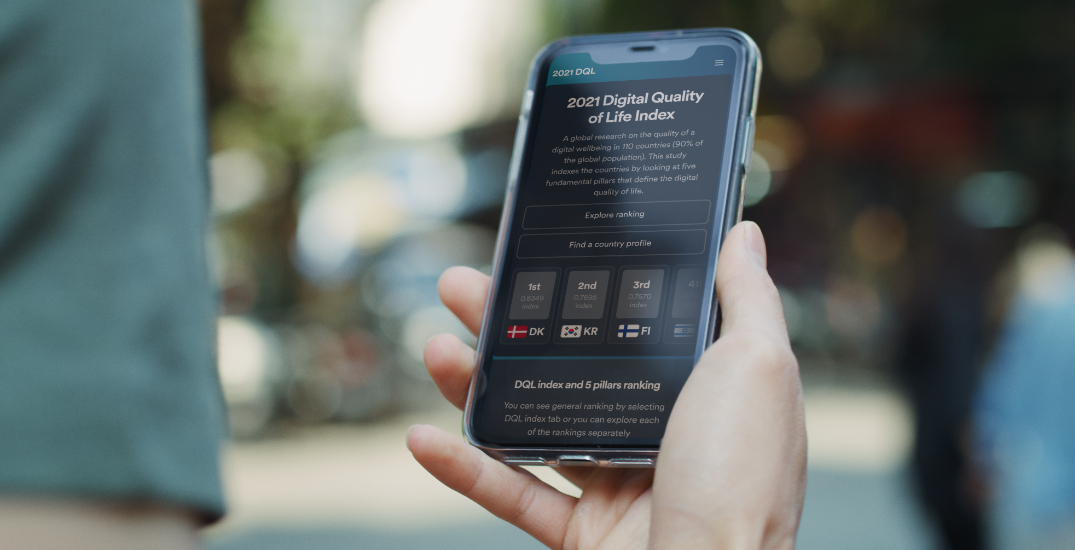 Canada has seen a significant decrease in digital quality of life since 2020
