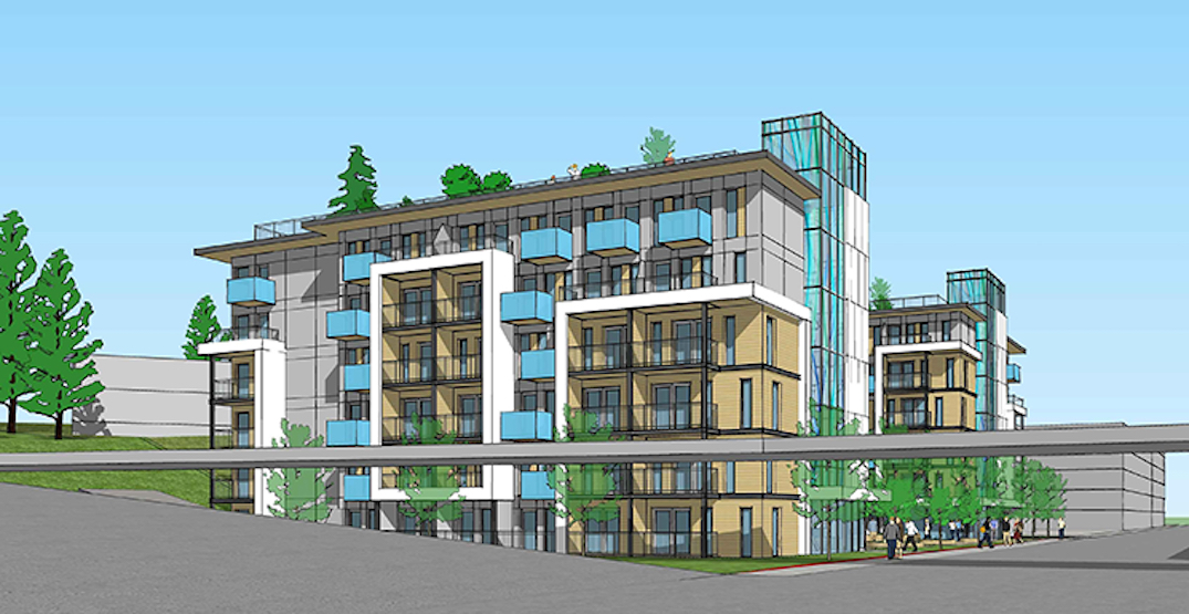 199 micro rental homes proposed for Park Royal mall in West Vancouver