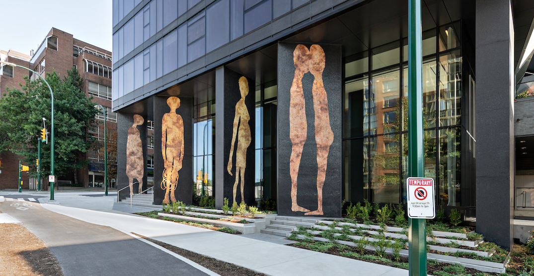 Humanoid figures added to new downtown Vancouver tower as public art