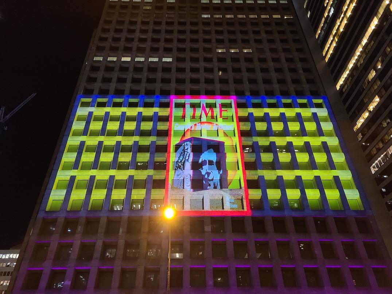 arthur erickson revealed tower light show vancouver