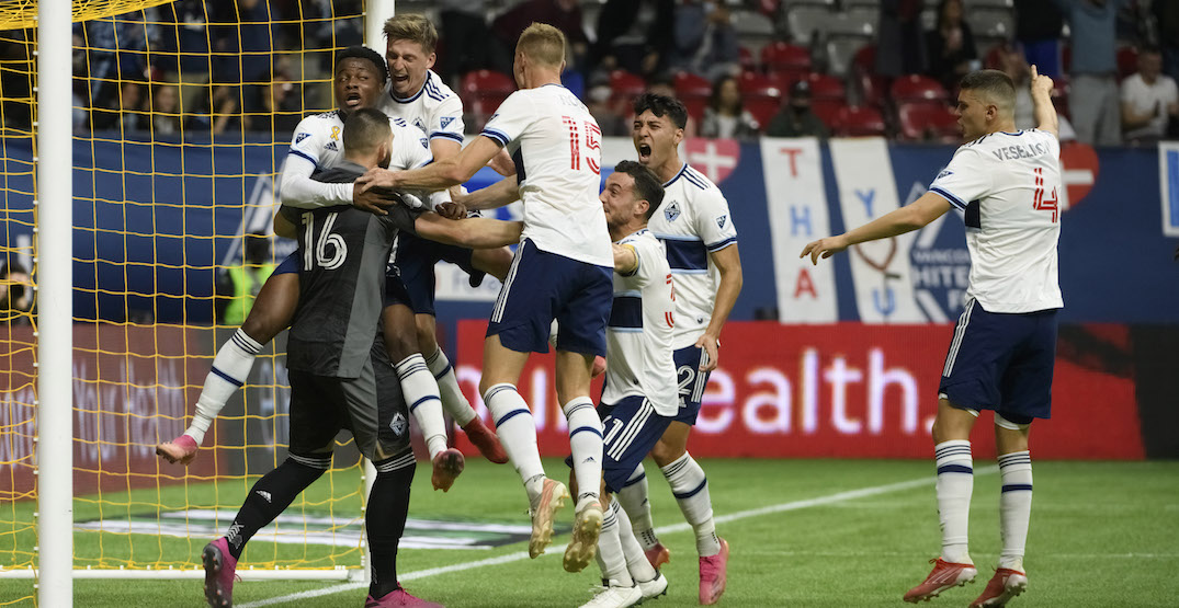 Crepeau makes last-second PK save to secure win for Whitecaps (VIDEO)