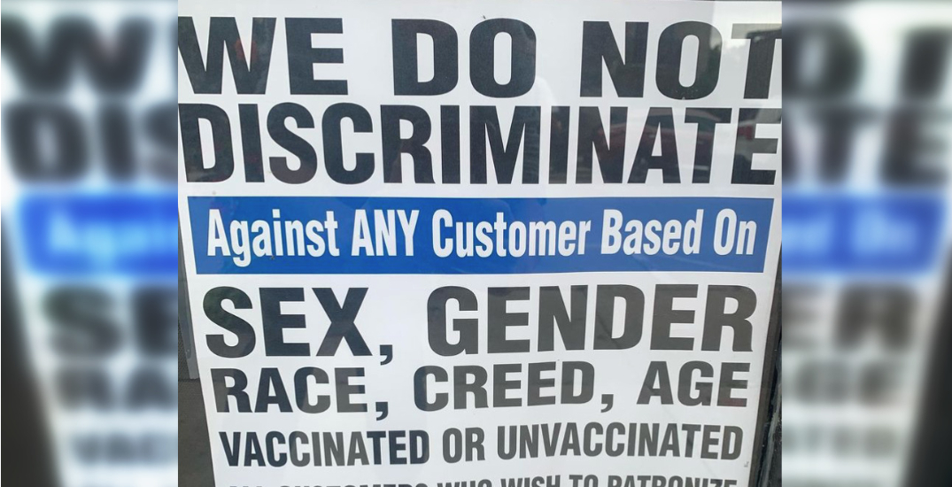 GTA restaurant says it will welcome unvaccinated customers despite vaccine passport system