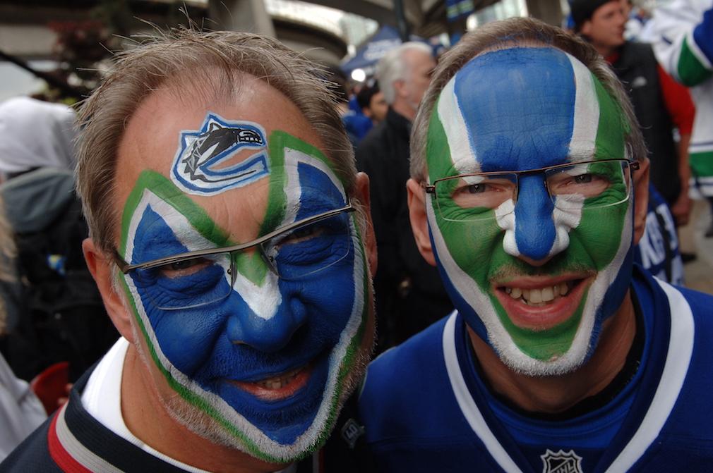 Vancouver Canucks fans