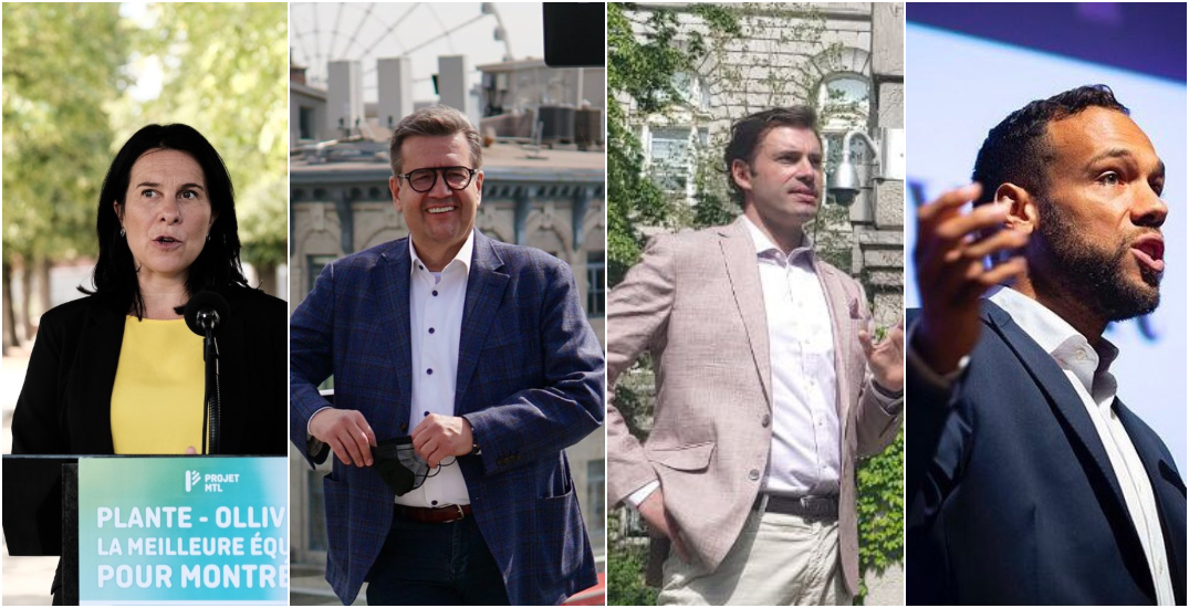 Here are the campaign promises of each Montreal mayoral candidate