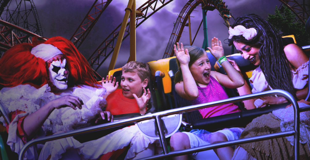 Ghouls and monsters are coming to La Ronde all October to scare your pants off