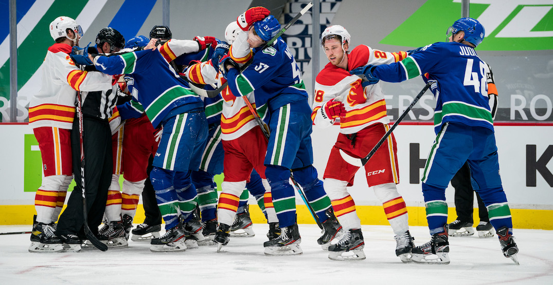 How to watch tonight's untelevised Canucks vs Flames game
