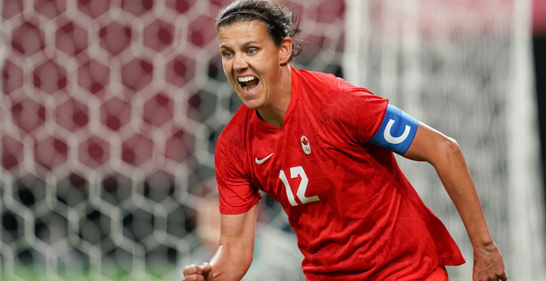 Christine Sinclair on gold medal parties, what's next for women's soccer in Canada