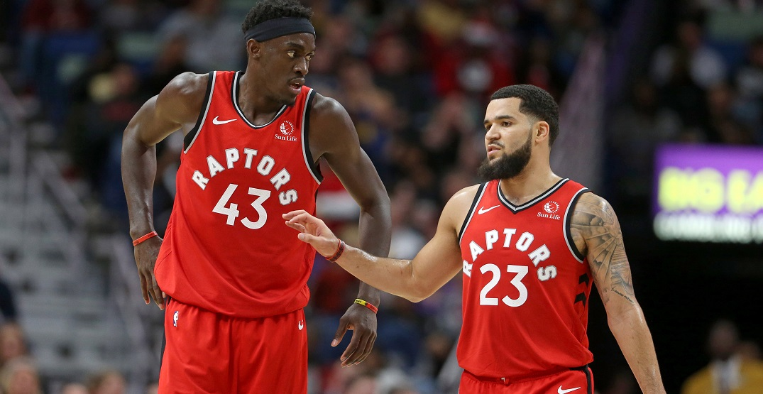 Only four current players have played for the Raptors in Toronto before
