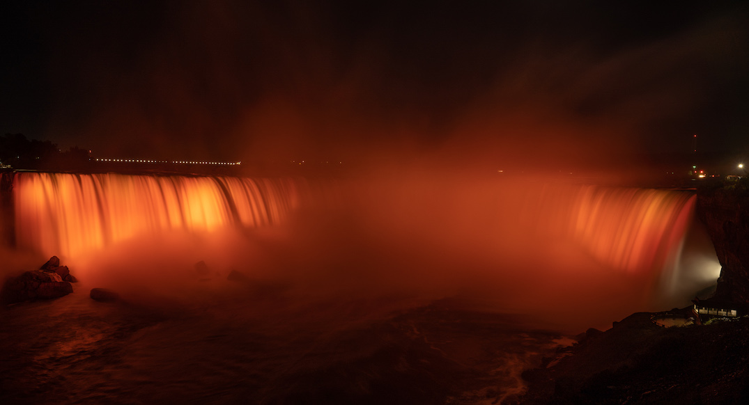 Niagara Falls to be lit orange for National Day for Truth and Reconciliation