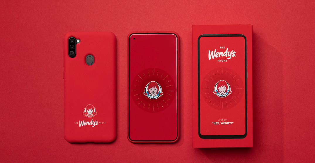 Wendy's Canada is launching its own limited-edition smartphone