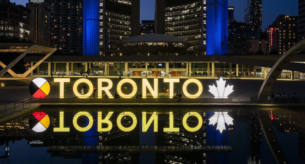 What you might not know about the Toronto sign's Medicine Wheel