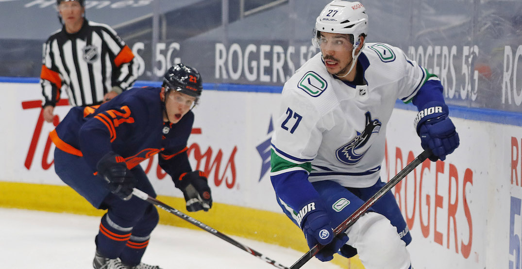 Canucks are in big trouble if Hamonic doesn't play this season