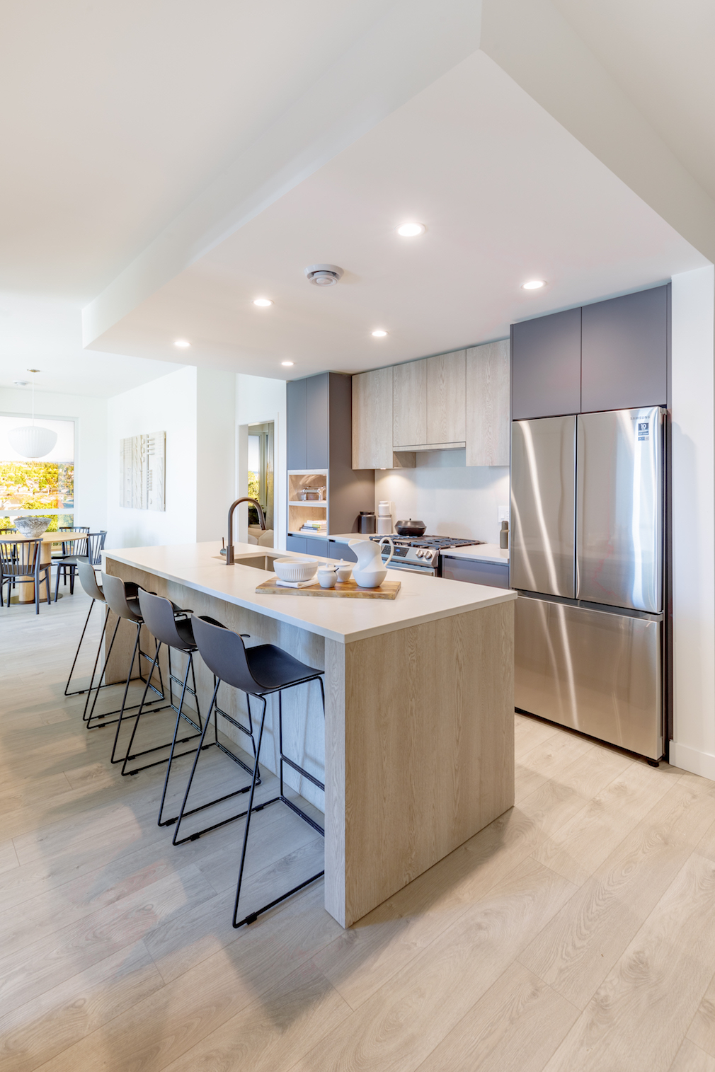 Kitchen in Harlo condo development