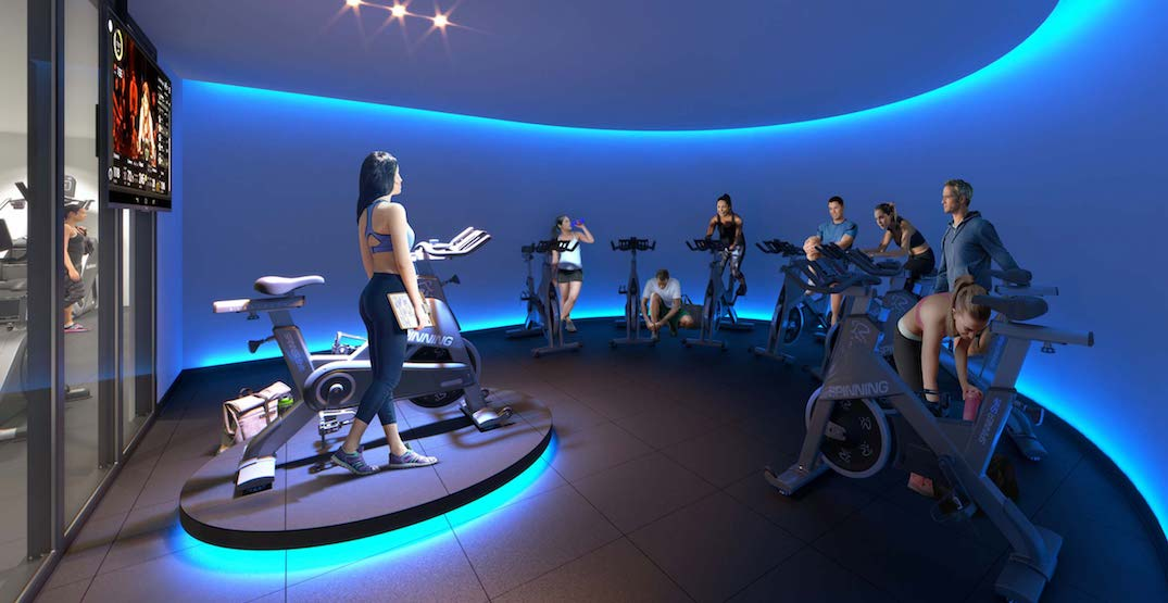 New Liberty Village condo building will have an LED spin studio