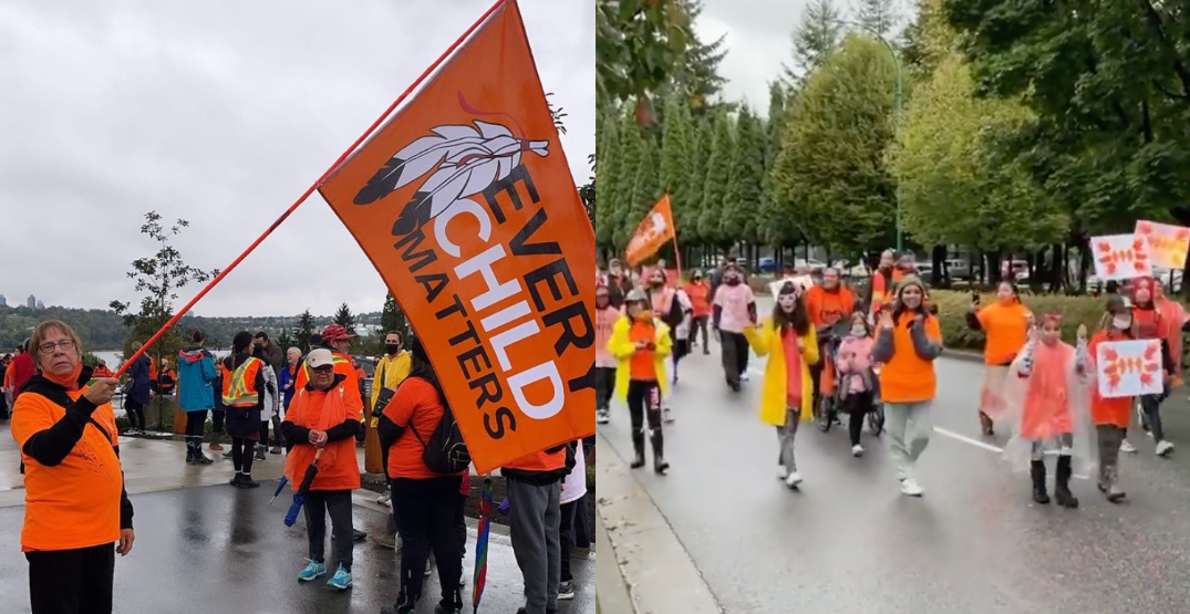 North Vancouver community on healing walk for Truth and Reconciliation Day