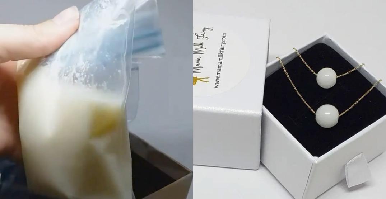 Mama Milk Fairy: Making keepsake DNA jewellery out of breast milk
