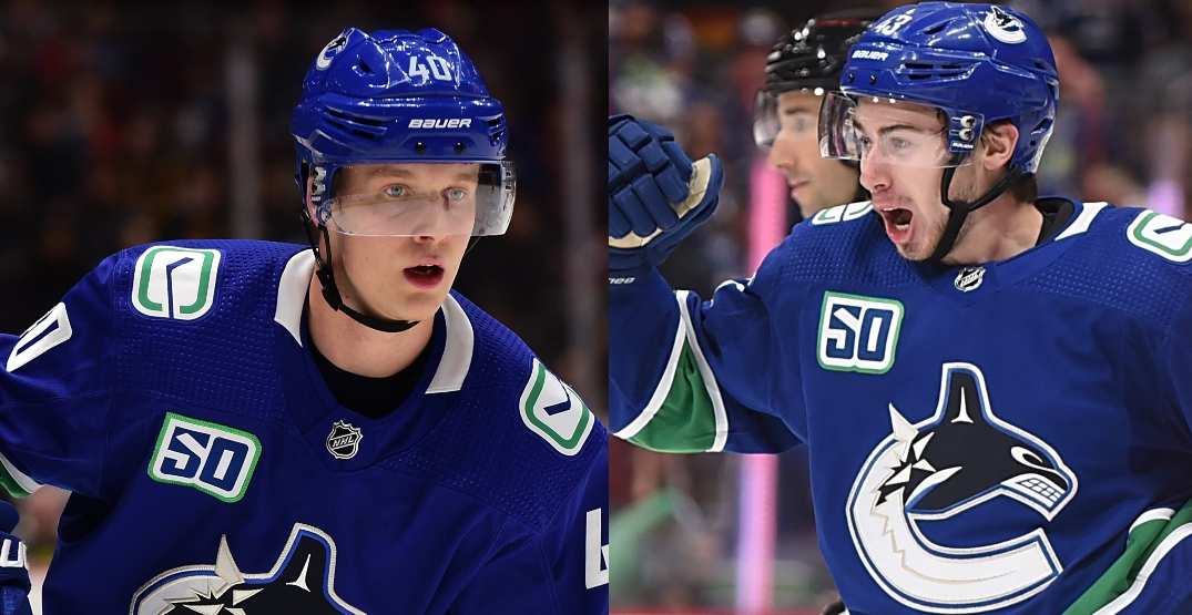 Canucks agree to new deals with Pettersson and Hughes: report