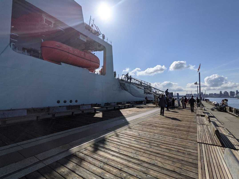 HMCS Harry DeWolf North Vancouver