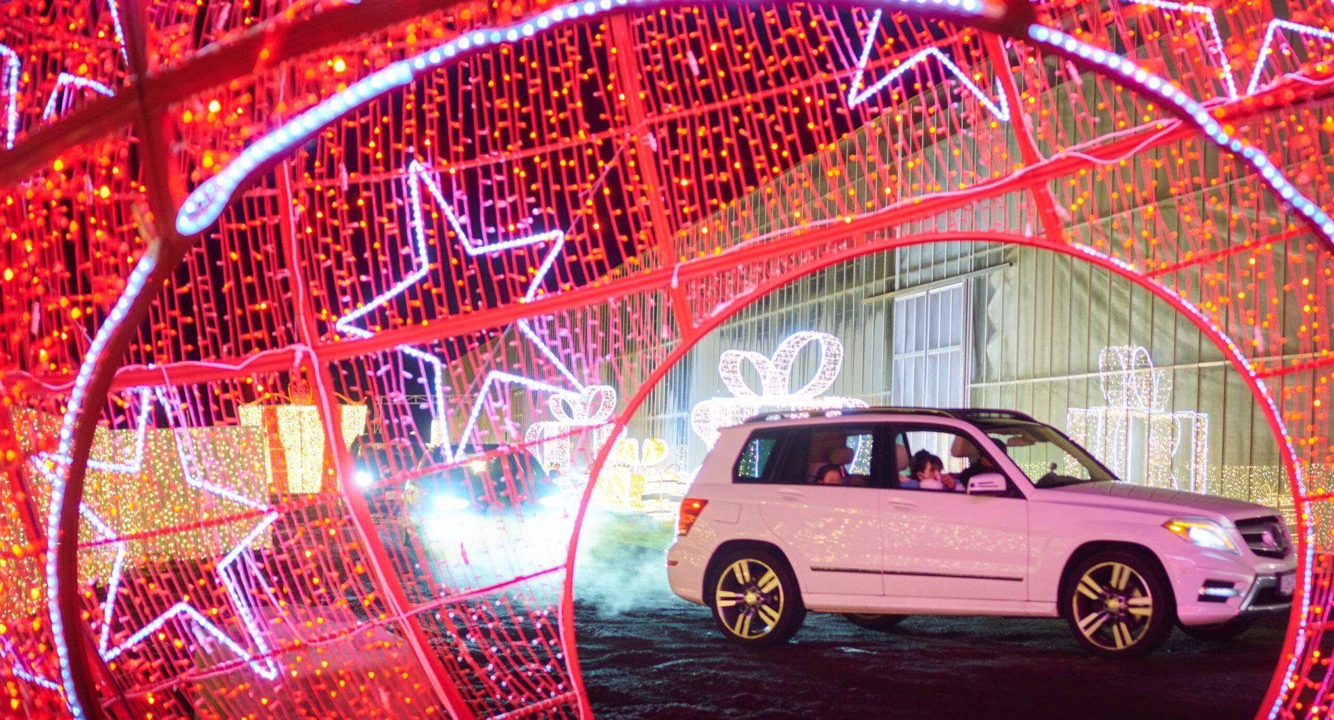 Metro Vancouver's glittering Glow drive-thru returns this holiday season