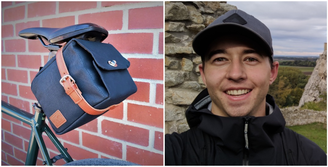 Beer lover creates clever saddlebag to carry brews on your bike