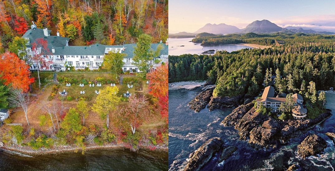 Two Canadian hotels have been ranked among the best in the world
